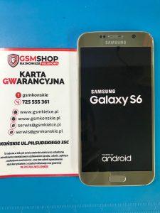 WYMIANA ZBITEJ SZYBKI SAMSUNG GALAXY S6 GSMSHOP KOŃSKIE (2)